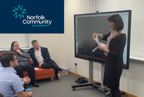 Norfolk Community Foundation Visit