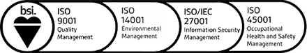 Conforming to ISO 45001