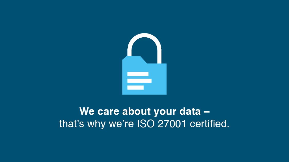 What makes us different? ISO 27001
