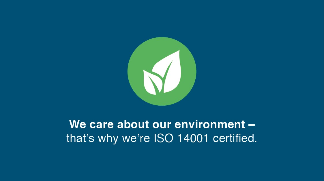 What makes us different? ISO 14001